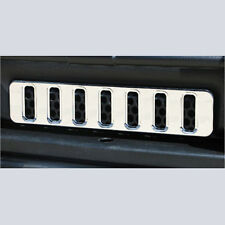 HPC H2 Hummer SUV & SUT 2003-2010 Billet Aluminum Chrome Lower Mini Grille
