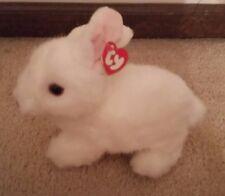 "10"" TY Beanie Buddy - NWT Bows the Rabbit"