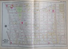 1907 DYKER HEIGHTS BAY RIDGE BROOKLYN NY 5th-14th AVE & 72ND-86TH ST ATLAS MAP