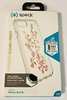 Speck Presidio Clear + Print Case for iPhone 7 & iPhone 8 - Goldenblossoms