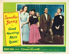 GOOD MORNING MISS DOVE 1955 ORIGINAL LOBBY CARD JENNIFER JONES ROBERT DOUGLAS