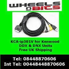 KCA-IP301V iPod iPhone adaptador interfaz para Kenwood KVT-524DVD , KVT-526DVD