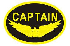 13186 CAPTAIN AIRLINE AVIATION PATCH APPLIQUE