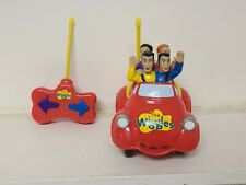 The Wiggles Big Red Car Toy Spin Master 2003 Toot Toot Singing *Not tested*