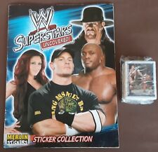 WW Superstars, 2008, Merlin? Album + Full Set Of Stickers