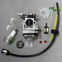 Vergaser + Benzinschlauch f Motorsense 52ccm und 49ccm Timbertech Freischneider