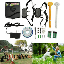 New Underground Electric Dog Fence Fencing System 2 Shock Collar Waterproof MY