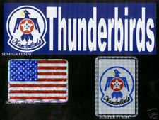 THUNDERBIRDS BUMPER STICKER MADE IN US AIR FORCE PIN UP USA DECAL ZAP AIRSHOW