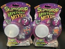 New Lot of 2 Slimygloop Mystery Mix'Ems Surpise Mini Figure Inside