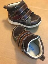 MOBILITY Brown Leather Walking Shoes Toddler Boy's Size 4W