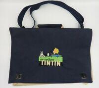TINTIN Hergé Sac bandoulière sacoche En voiture Editions ATLAS 2001
