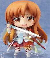Nendoroid 283# Sword Art Online Yuuki Asuna PVC Figurine Modèle 10cm Jouets