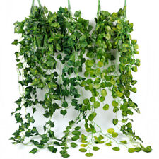 Artificial Trailing Ivy Leaf Hanging Garland Plants Foliage Home Office Outdoor