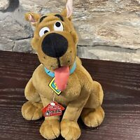 "Scooby Doo Dizzy Dog Pull String Head Spinning Plush 10"" Rare  Hanna Barbera New"