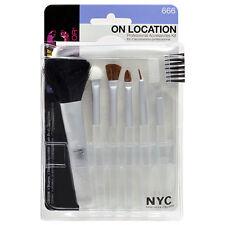 NYC New York colore sulla posizione Professionale Trucco Spazzole Kit di accessori da viaggio