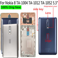 Original New For Nokia 8 TA-1004 TA-1012 TA-1052 Back Door Housing Battery Cover