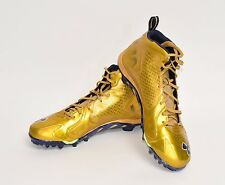 2014/15? Notre Dame Football Team Issued Under Armour Alternate Cleats Size 15