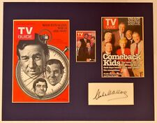 """""""60 Minutes"""" Collage with Mike Wallace Autograph (includes COA)"""