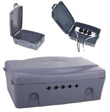 Masterplug Weatherproof Waterproof IP54 Box Outdoor Electrics Enclosure