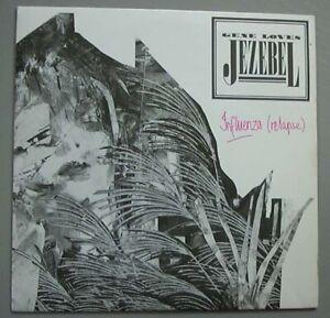 """GENE LOVES JEZEBEL INFLUENZA (RELAPSE) 7"""" P/S UK"""