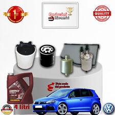 Filtres Kit D'Entretien + Huile VW Golf VI 1.6 Bifuel 75KW 102CV à partir de