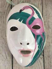 Vandor Ceramic Flamingo Face Mask Made Japan Pelzman Designs 1981