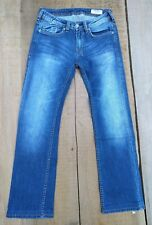 "Buffalo David Bitton BDB ""Driven-X"" Straight Stretch Mens Jeans Sz 28x31 HEMMED"