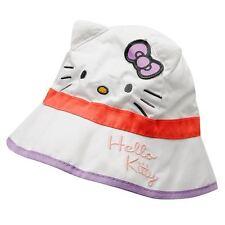 SANRIO chapeau bob blanc HELLO KITTY  enfant bébé neuf