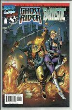 GHOST RIDER BALLISTIC #1 1997 DEVIL'S REIGN TIE IN MARVEL IMAGE COMICS X-OVER NM