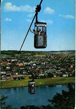 Alte Postkarte - Trier an der Mosel - Kabinenbahn