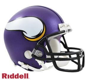 Minnesota Vikings VSR4 Riddell Football Mini Helmet New in box