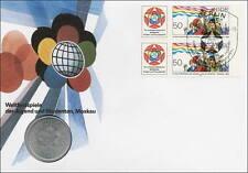 D-031 DDR-Numisbrief Weltfestspiele der Jugend