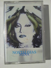 "MINA MAZZINI ""NOSTALGIAS"" RARE SPANISH CASSETTE- NEW & SEALED"
