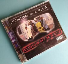 JUNIOR M.A.F.I.A. Conspiracy CD Album BigBeat Records (1995)  Rap Hip-Hop CD 851