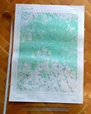 KURSUMLIJA Blace Velika Plana JNA Army Topographic MAP YUGOSLAVIA 1970 Serbia