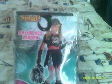 Spirit Stores Halloween Costume Cheerless Leader Child L10-12