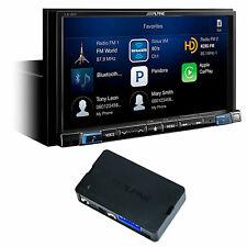 ALPINE i207-WRA Bluetooth Carplay Monitor+Acc Ctrl For 2007-18 Jeep Wrangler JK