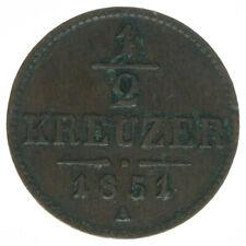 Österreich, 1/2 Kreuzer 1851 A, A18866