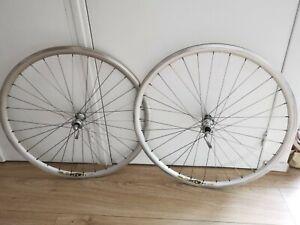 Campagnolo hub MAVIC CXP30 rim roues wheelset jante moyeu 8 speed vintage aero