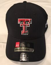 Under Armour Texas Tech Red Raiders Airvent Alloy Flex Hat Cap NWT  L/XL