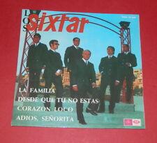 Los Sixtar -- La familia   --  4 Tracks Single