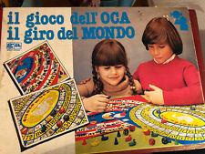 Gioco dell'Oca + Giro Del Mondo Vintage Ottime Condizioni Anni 70 80