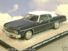 DIECAST 1/43 JAMES BOND 007 CHEVROLET IMPALA CUSTOM COUPE FROM LIVE AND LET DIE