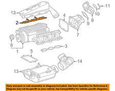 MERCEDES OEM 02-04 C32 AMG 3.2L-V6 Supercharger-Gasket Right 1120980080