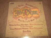 "SXL 6837 ANTON BRUCKNER "" TE DEUM "" ZUBIN MEHTA ~ DECCA VINYL LP EX/EX- 1977"
