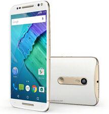 """NUOVO STILE MOTO X XT1572 32 GB Bianco 4 G LTE 21MP 3 GB di RAM 5.7"""" Smartphone Sbloccato"""