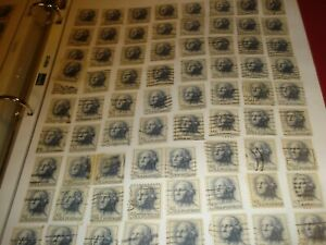 LOTS OF USA USED OLD STAMPS 1930'S 1 CENTS  2 CENTS 3 CENTS ARMY AND NAVY