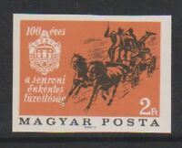 Hungary - 1966, Cent. of Voluntary Fire Brigade (Imperf) stamp - MNH - SG 2204