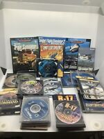 Huge Lot Of PC Simulator Games And Guides Trains, Planes, Ships