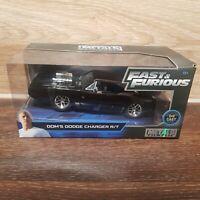 JADA 1/24 Fast & Furious - Dom's Dodge Charger R/T Black Die Cast Car Model